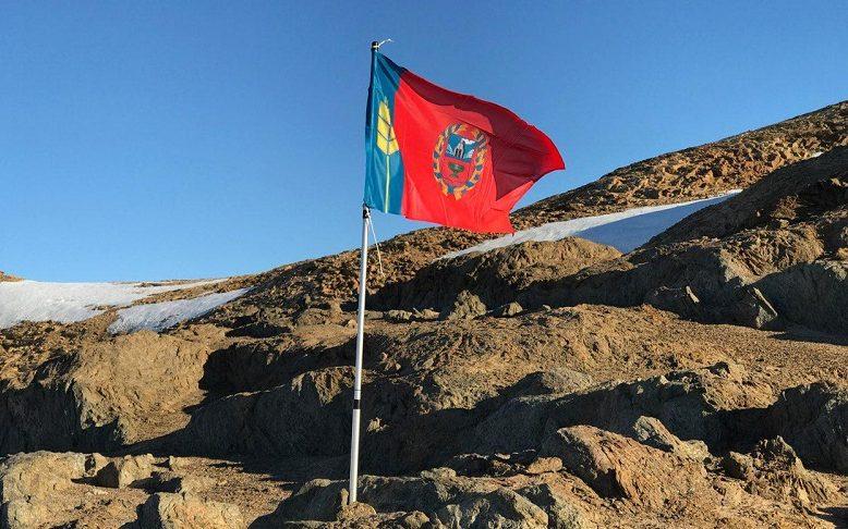 Флаг Алтайского края вернулся на родину из Антарктиды