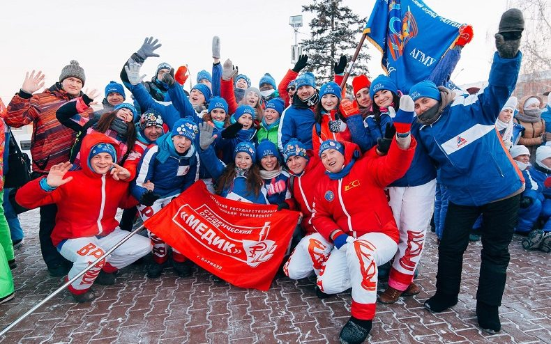 Более 80 студентов медуниверситета примут участие в акции «Снежный десант РСО – 2019»