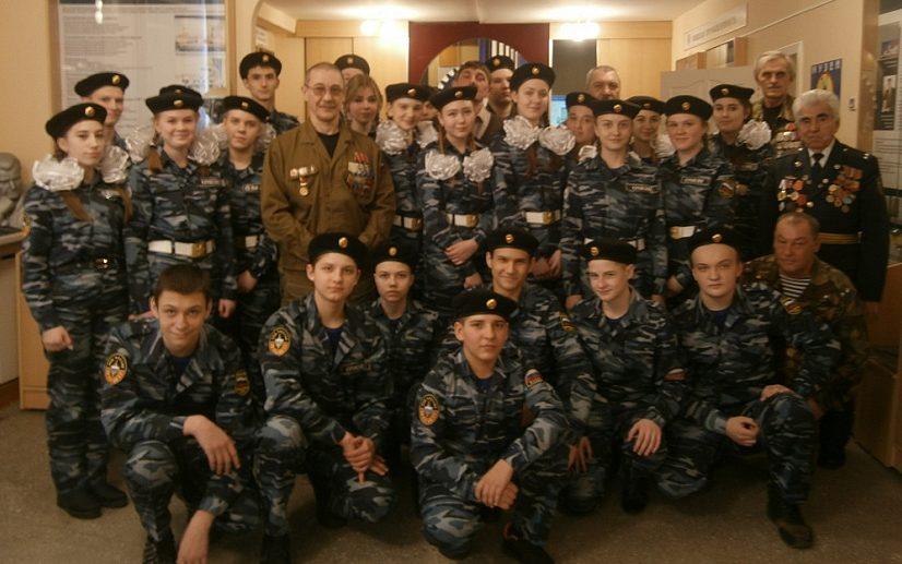 Школьники встретились с ветеранами боевых действий