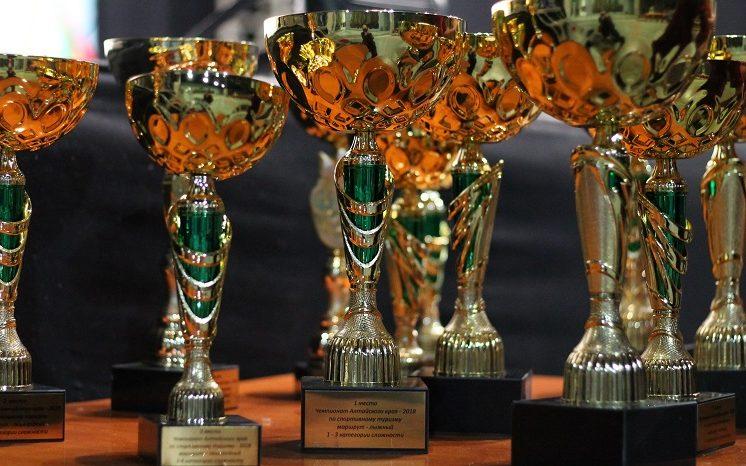 Состоялось награждение победителей и призеров Чемпионата Алтайского края по спортивному туризму