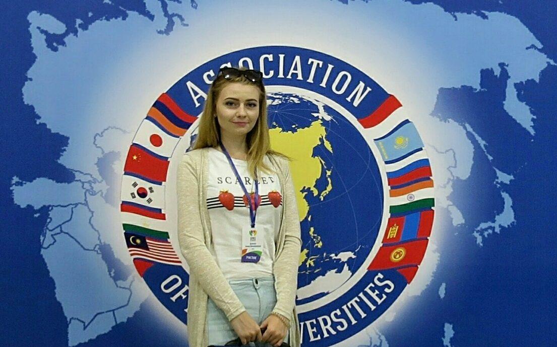 Алина Дымова - волонтер XXIX Всемирной зимней универсиады 2019