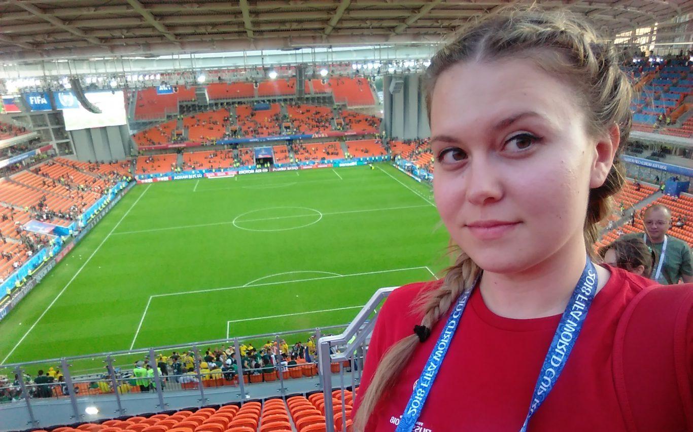 """Корнилова Анастасия: """"Универсиада для меня - это возможность заниматься любимым делом"""""""