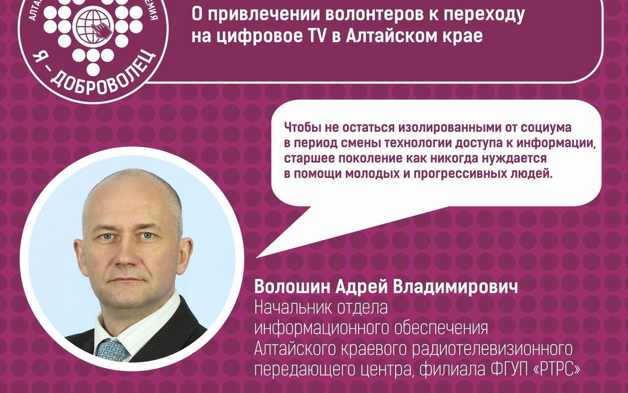 """Андрей Волошин - эксперт онлайн-академии """"Я-доброволец"""""""