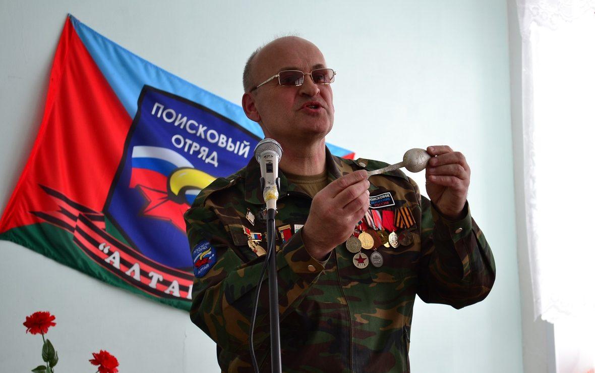 В Кемеровской области состоится торжественная передача именной вещи родственникам красноармейца из Алтайского края