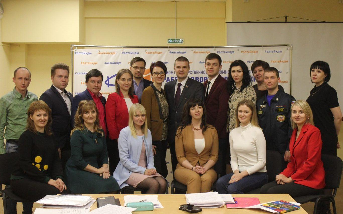 Состоялось первое заседание Общественного совета при управлении молодёжной политики Алтайского края