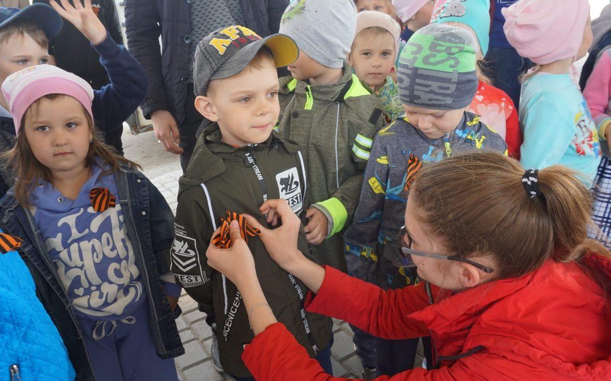 Молодежь Косихинского района приняла участие в акции «Георгиевская ленточка»