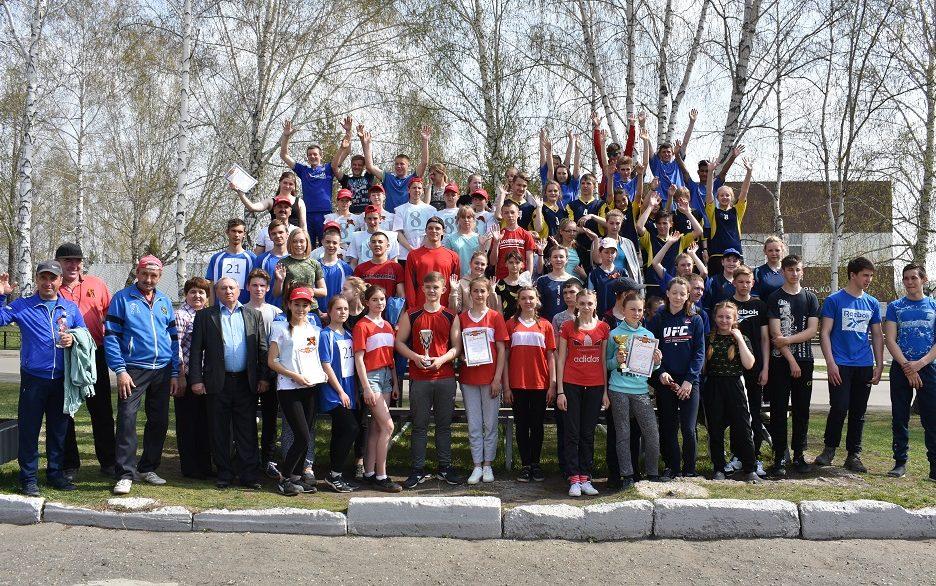 Легкоатлетическая эстафета «Кольцо Победы» прошла в селе Косиха