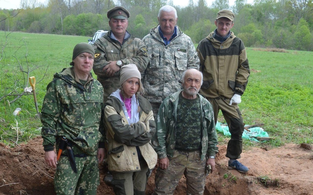 Новгородские поисковики  нашли останки солдата – уроженца Алтайского края