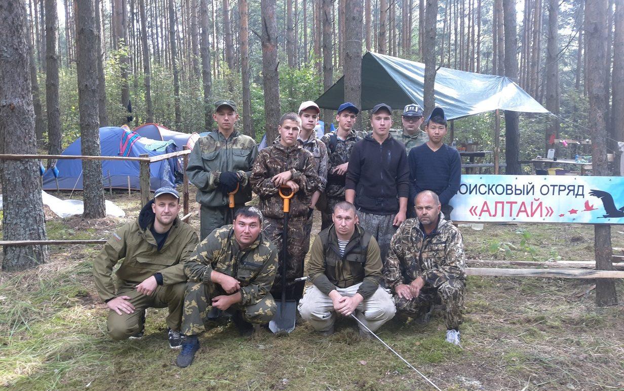 Поисковый отряд «Алтай» принимает участие в XXI Международной учебно-тренировочной «Вахте Памяти»