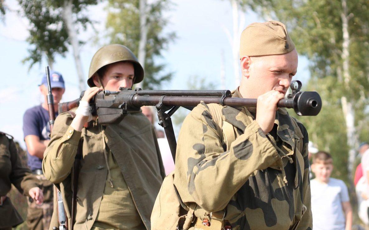 На Алтае прошел военно-исторический фестиваль «Днепровский рубеж»