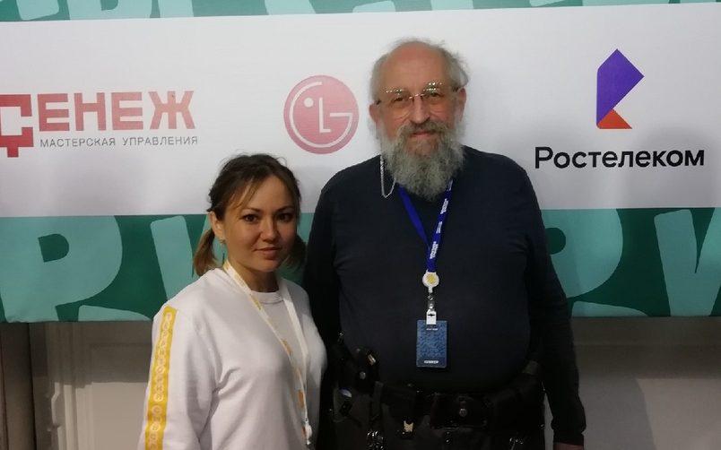 Александра Капинос: «Форум «Территория смыслов» дал мне много новых знаний и положительных эмоций»