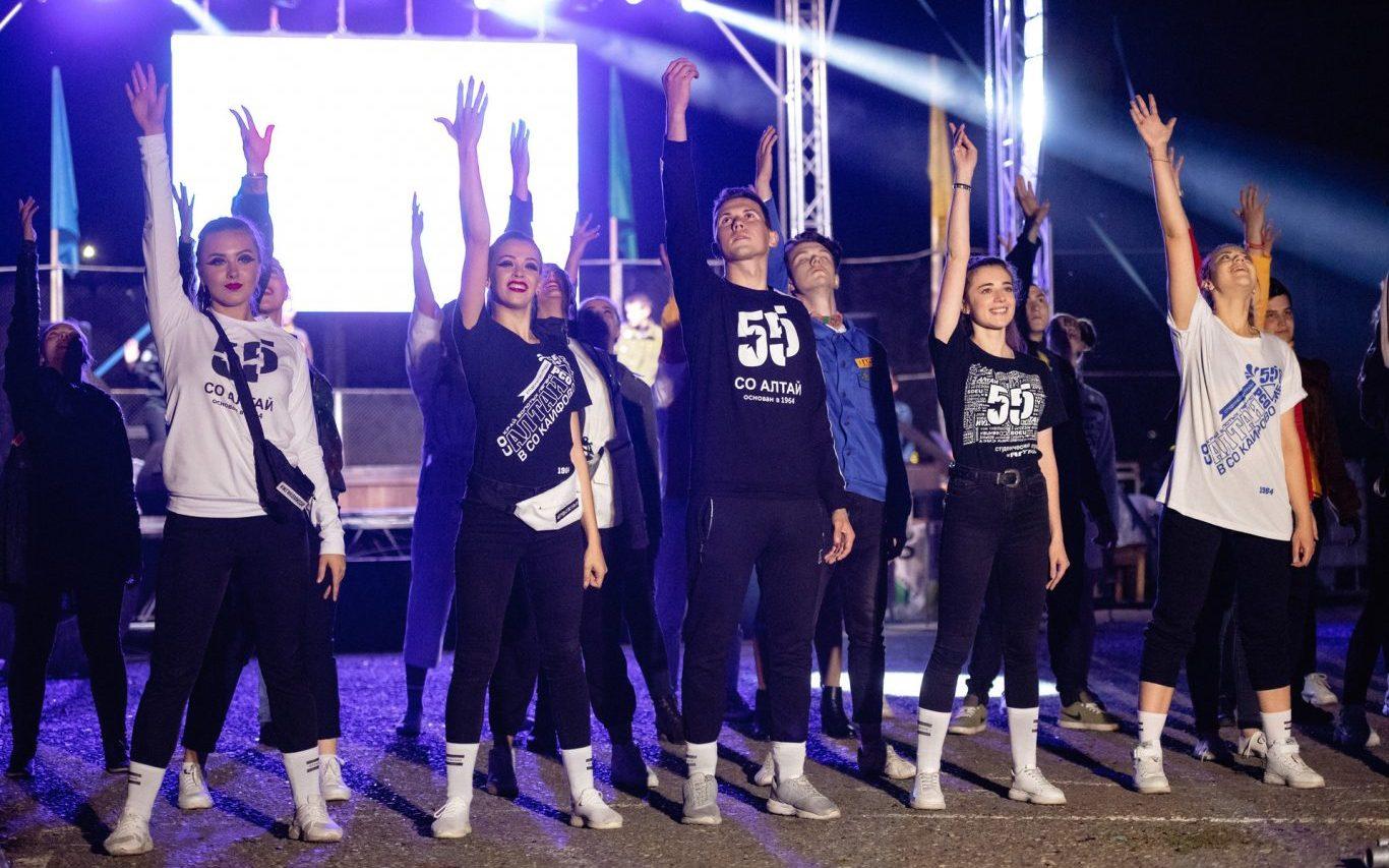 В Алтайском крае прошёл фестиваль и спартакиада студенческих отрядов
