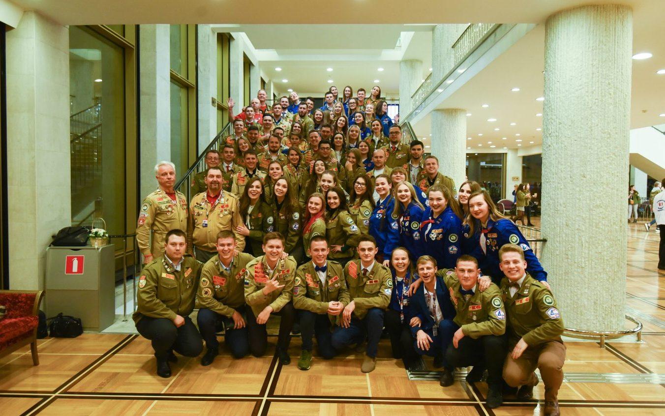 Алтайские стуотрядовцы приняли участие в праздновании 60-летия стройотрядовского движения в Москве