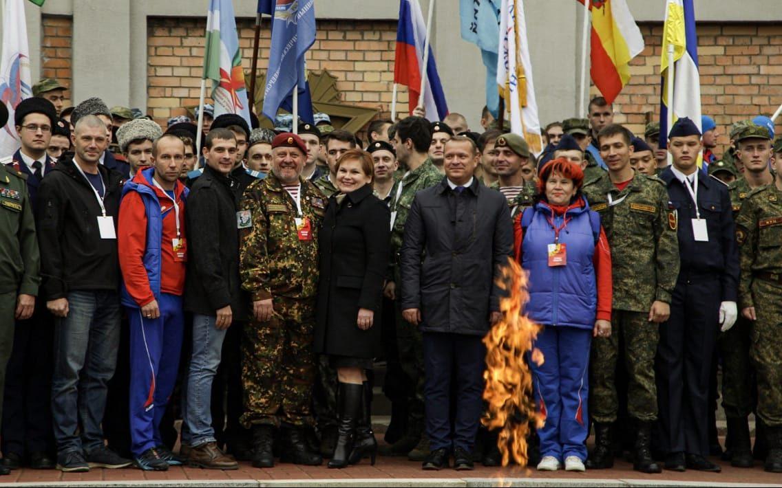 В Рязани открыли финал VI Всероссийской военно-патриотической студенческой игры «Зарница»