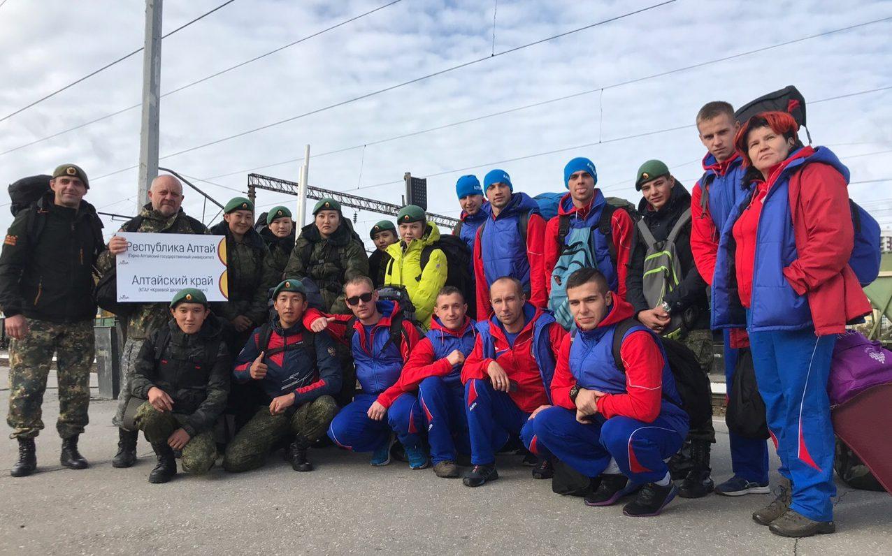 Сборная команда из Алтайского края примет участие во всероссийском финале «Зарницы»