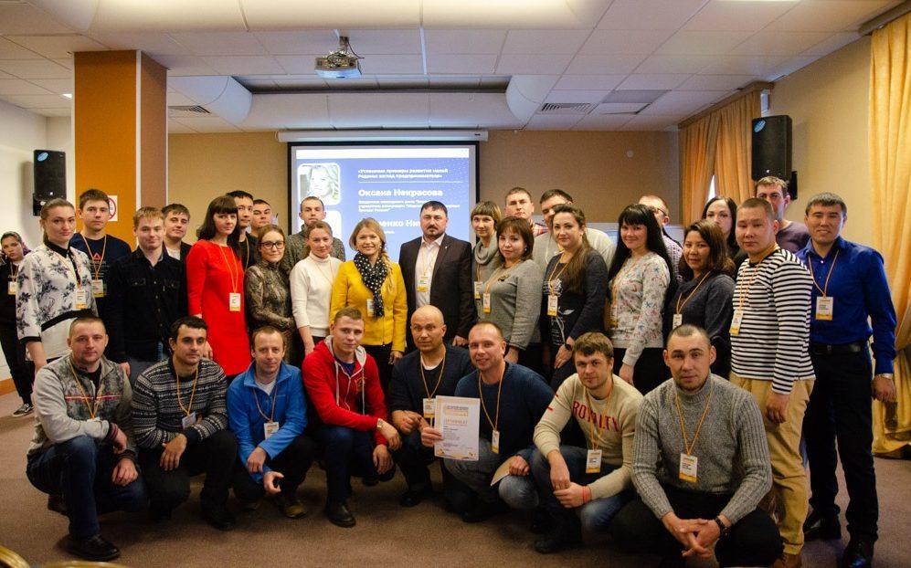 Истории успеха. Участники Слёта сельской молодежи провели диалог на равных с алтайскими предпринимателями