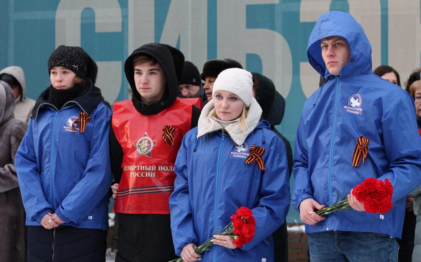 В Барнауле прошла акция «Блокадный хлеб», посвященная Дню снятия блокады Ленинграда