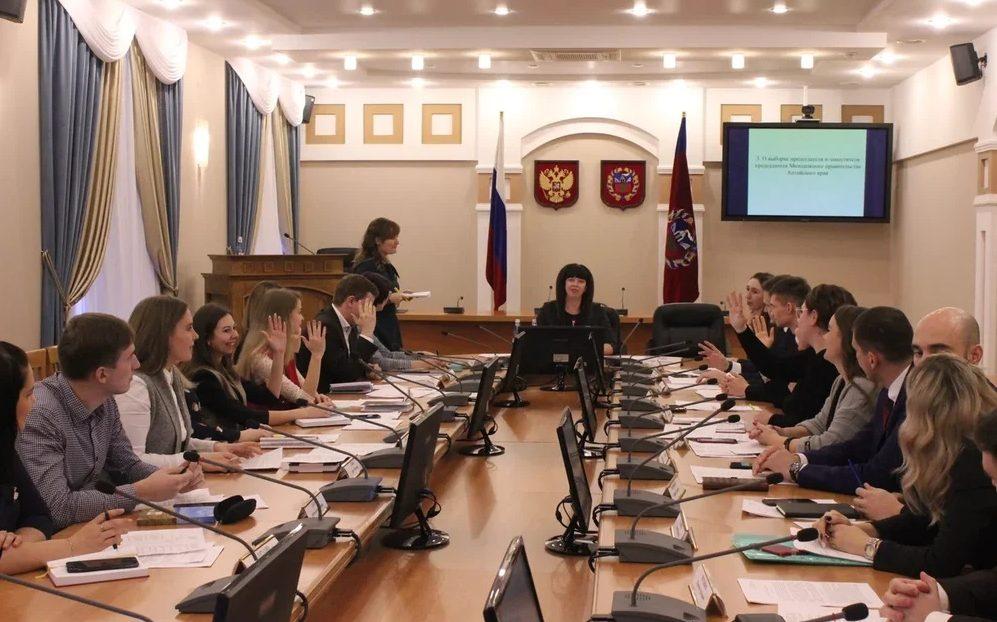 Определен план работы Молодежного правительства Алтайского края на 2020 год