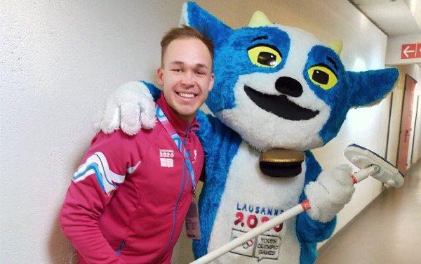 Студент АлтГУ стал волонтером зимних юношеских Олимпийских игр 2020