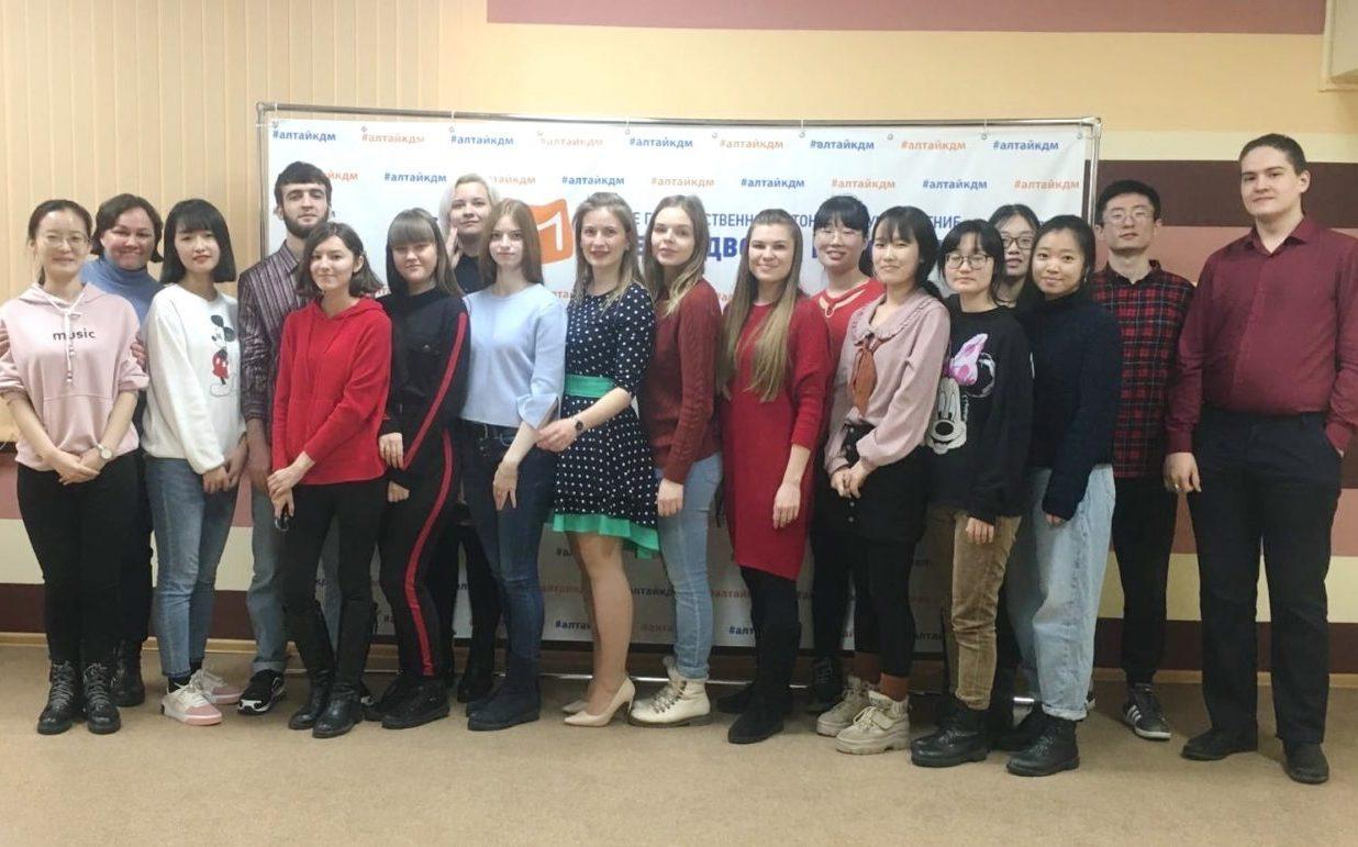В Краевом дворце молодежи прошел тренинг по актуализации этнической идентичности
