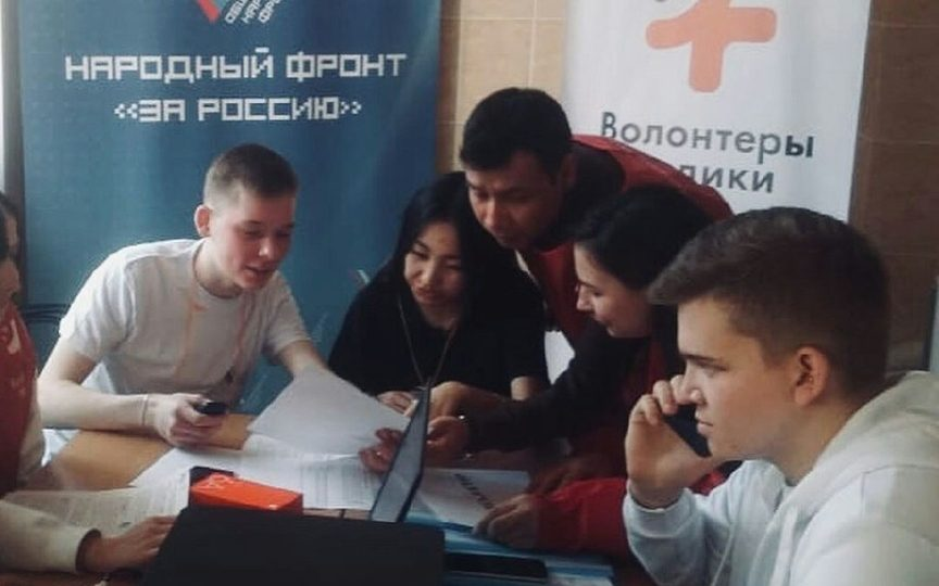 #МЫВМЕСТЕ: в Алтайском крае волонтеры помогают пожилым и маломобильным людям, находящимся в режиме самоизоляции