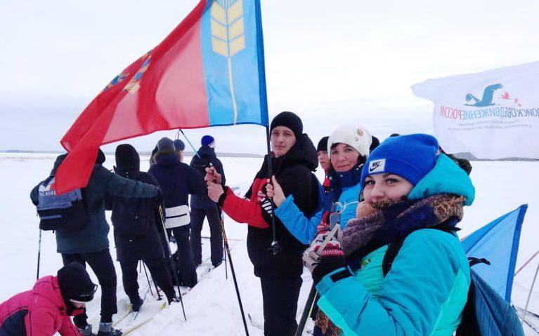 Алтайские поисковики приняли участие в лыжном походе, посвященном памяти бойцов сибирских лыжных бригад