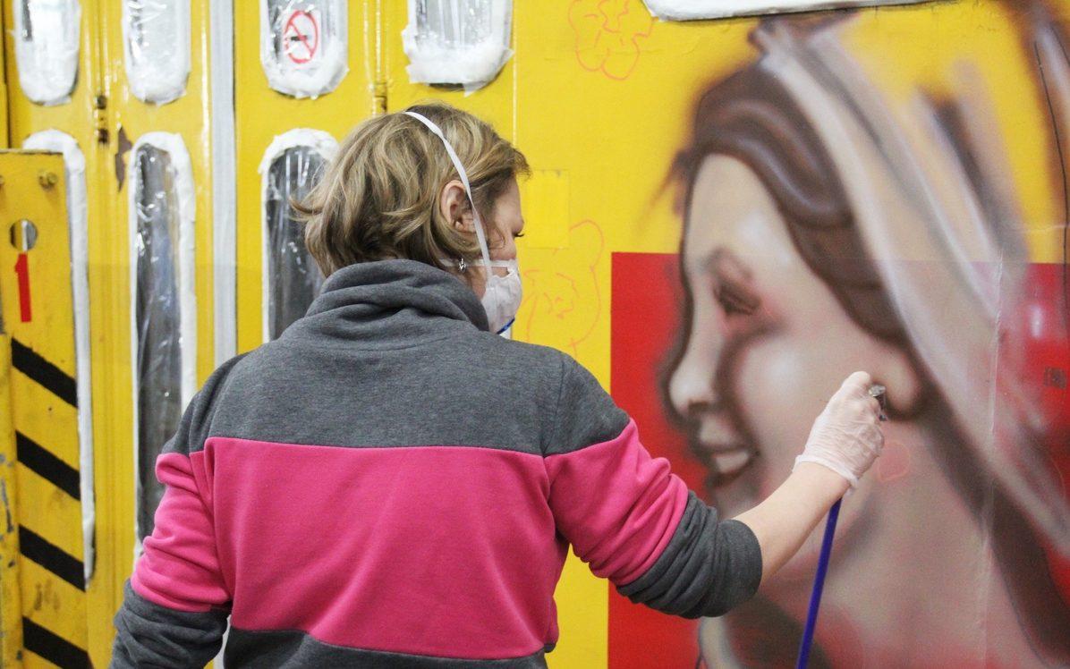 Первый стрит-арт фестиваль «ТОК FEST» проходит на Алтае