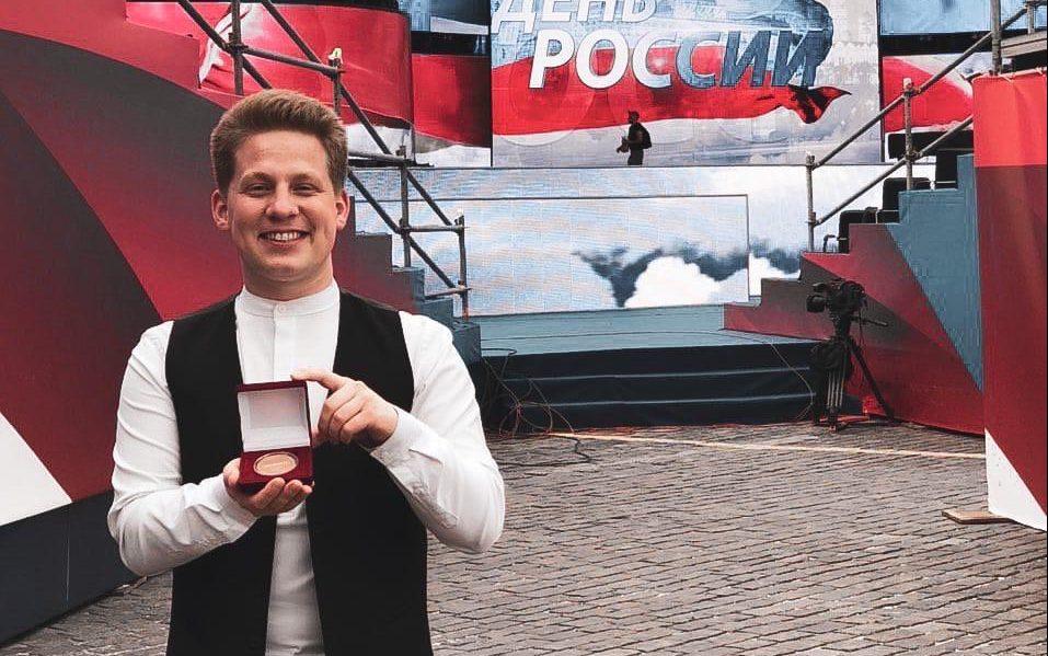 Уроженец Алтайского края Павел Руднев награждён медалью акции #МыВместе