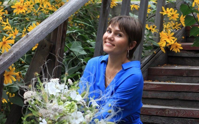 Профессиональный флорист научит делать букет в прямом эфире