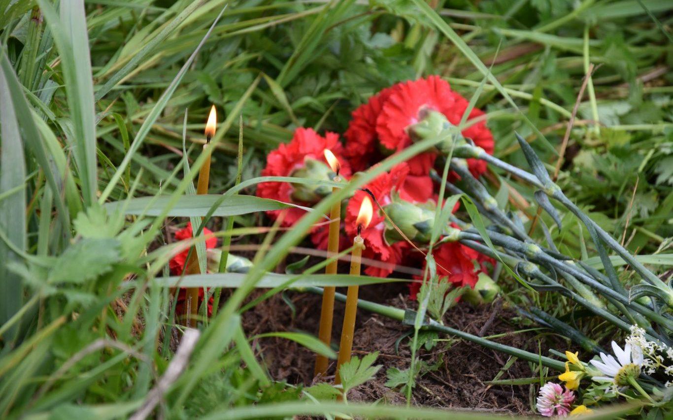 Алтайские красноармейцы, защищавшие Ленинград, с почестями захоронены на Синявинских высотах