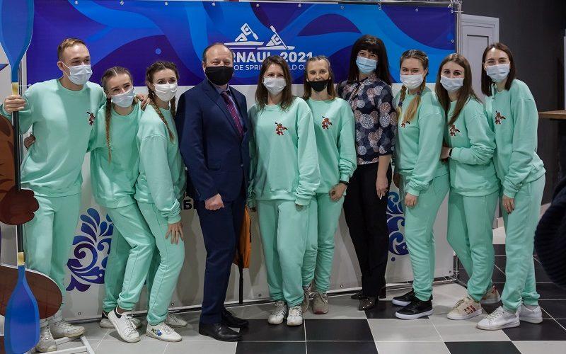 В Алтайском крае начал работу волонтёрский штаб II Этапа Кубка мира по гребле на байдарках и каноэ