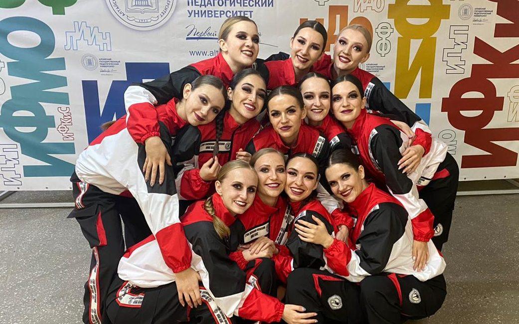 Студенческий коллектив «Вива данс» – призёр международного конкурса современного и эстрадного танца