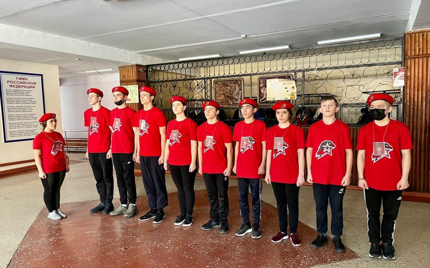 В Алтайском крае провели смотр военно-патриотических клубов
