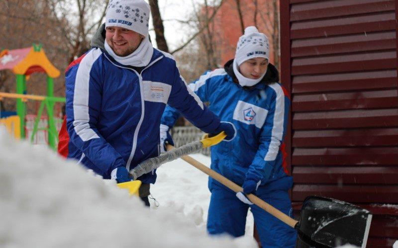 В Алтайском крае завершилась акция «Снежный десант»
