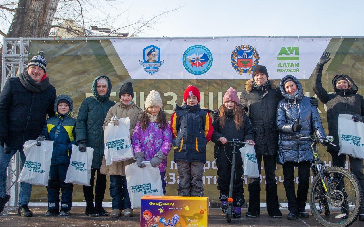 Пятилетие Фонда В.А. Шаманова «Защитники Отечества» отметили спортивными состязаниями