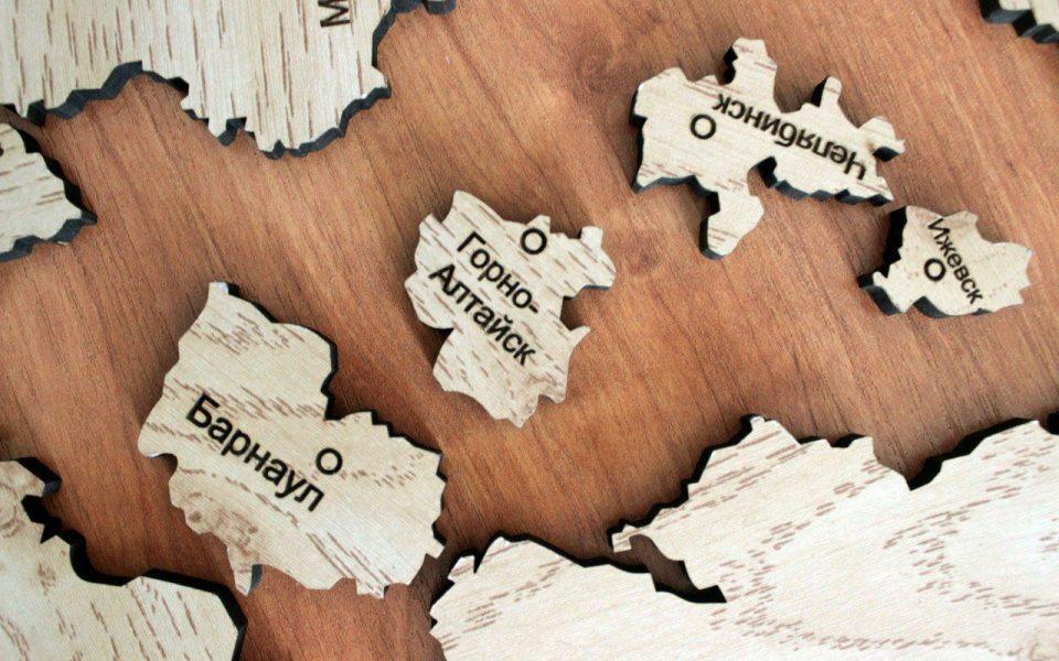 В Барнауле пройдёт соревнование по сборке пазл-карт России и Алтайского края