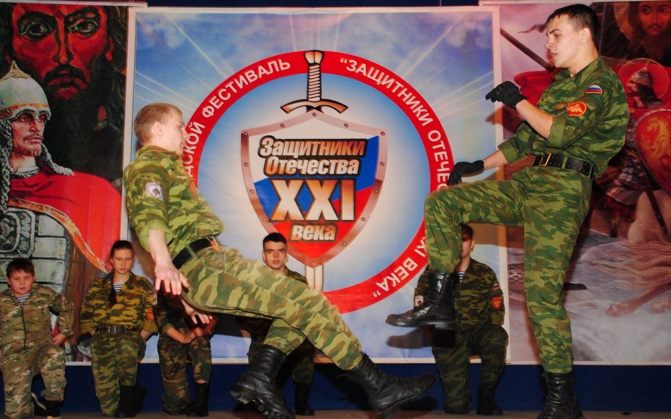 В Бийске состоялся традиционный фестиваль «Защитники Отечества XXI века»