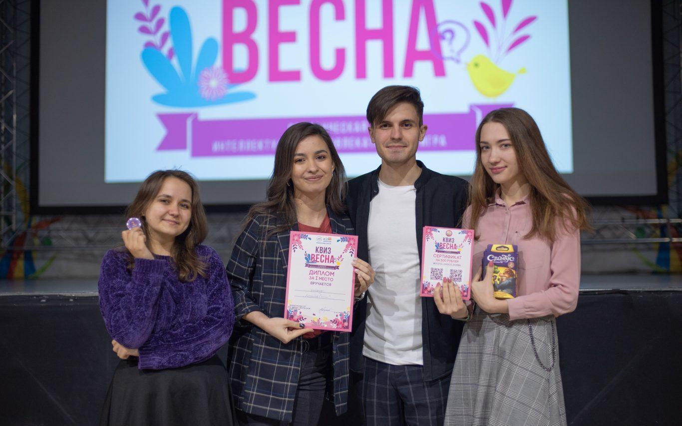 Барнаульские студенты сразились в интеллектуально-развлекательной битве