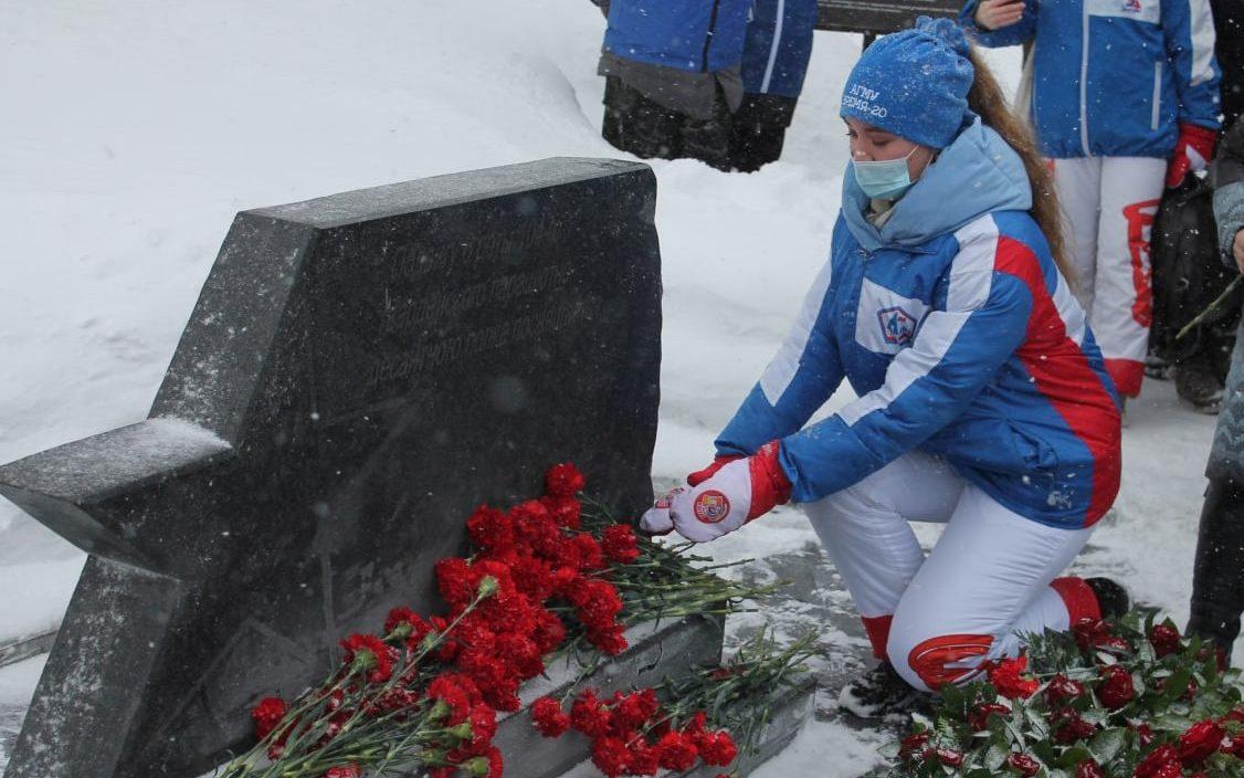 В Алтайском крае почтили память десантников 6 роты