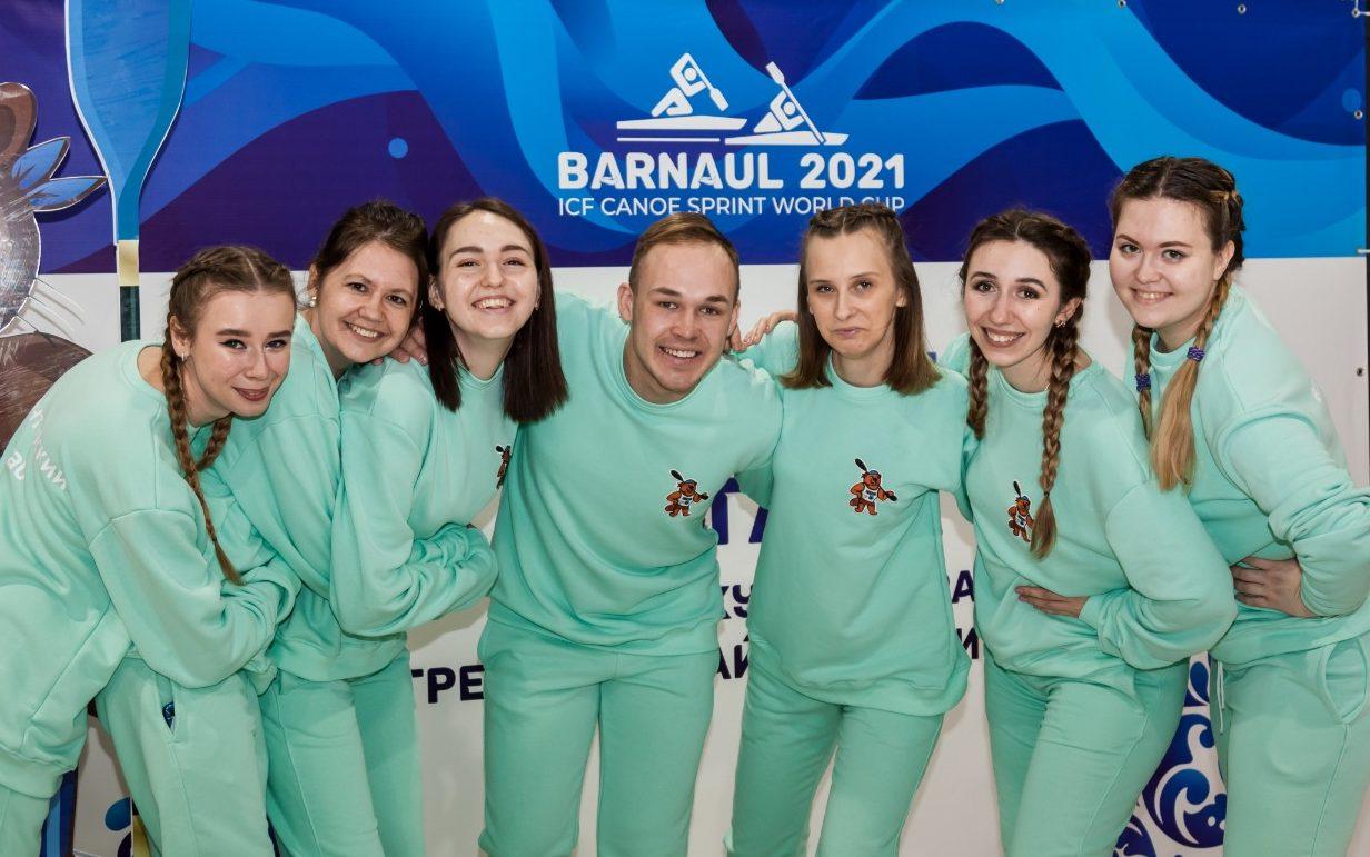 Осталось два дня до завершения регистрации волонтёров этапа Кубка мира по гребле на байдарках и каноэ в Барнауле