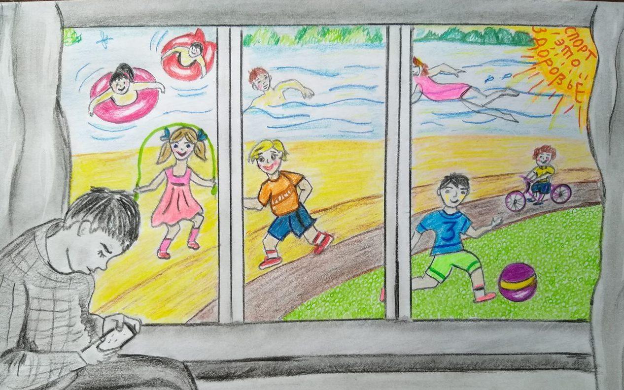 Подведены итоги краевого конкурса рисунков «Здоровая страна – здоровая нация»!