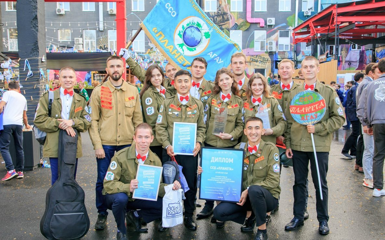 Алтайский студотряд стал одним из лучших на международной студенческой стройке