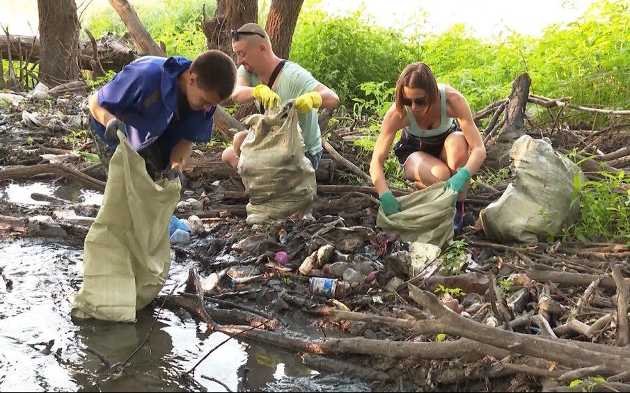 Барнаульцев приглашают на очистку берега реки Пивоварки