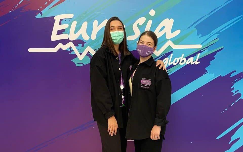 Алтайские студенты – волонтеры Международного молодежного форума «Евразия Global – 2021»