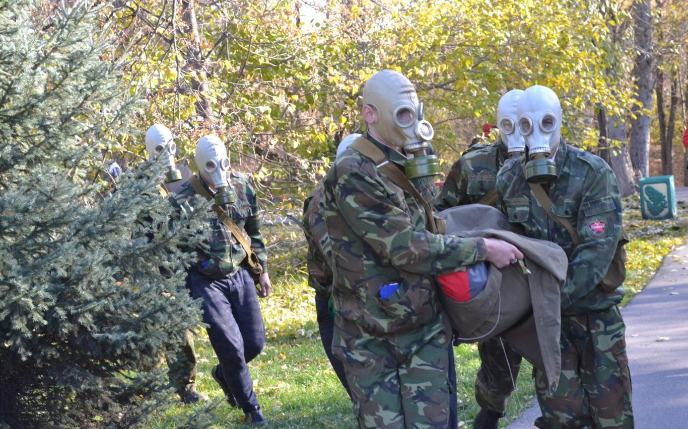 Барнаульская молодежь сыграла в «Осенний призыв»